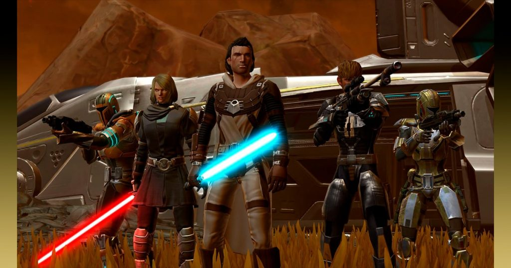 SWTOR games